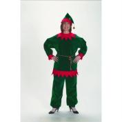 Halco 1199 Adult Velvet Christmas Elf Suit - Size 12-16