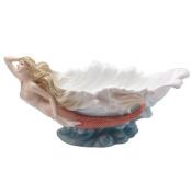 Unicorn Studios AP20273AA Mermaid Sea Wave Coupe Porcelain Bowl