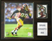 C and I Collectables 1215ORAPKO NFL Brian Orakpo Washington Redskins Player Plaq