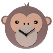 Infinity Instruments 14413 Monkey Business Wall Clock