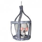 41cm Tall Sonic Skull In Cage
