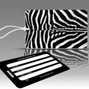 Insight Design 770470 TagCrazy Luggage Tags- Zebra Print- Set of Three