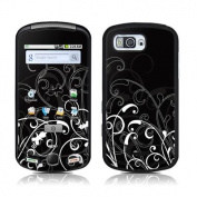 DecalGirl SMNT-BWFLEUR for Samsung Moment Skin - B & W Fleur