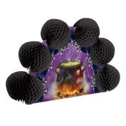 Beistle 00653 Cauldron and Bats Pop-Over Centrepiece