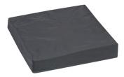 Mabis 513-7508-0200 Pincore Cushion with Nylon Oxford Cover - 16 x 16 x 3 - Black