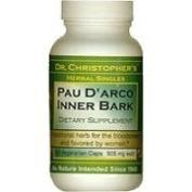 Dr. Christophers Formulas 0413054 Pau Darco - 500 mg - 100 Vegetarian Capsules