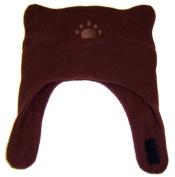 BearHands Kids Hat, Infant or Toddler Boy or Girl Chinstrap Fleece Hat