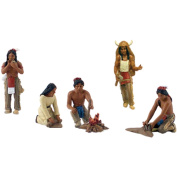 Scene Setters(R) Figurines-Native Americans approx 3.8cm 5/pkg