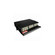 Cables To Go 39103 Q-Series 4U 12-PANEL RACK-MOUNT fibre OPTIC ENCLOSURE
