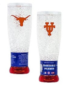 Texas Longhorns Official NCAA Crystal Pilsner Glass by Duck House 254166