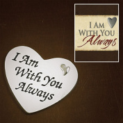 Abbey Press 52988 I Am With You Always Token and Message Card