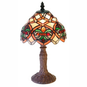 Warehouse Of Tiffany 3148-SB33 Small Arielle Accent Lamp