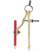 General Tools 318-842 Pencil Compass Divider& Scriber W-Pencil