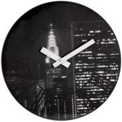 Nextime 3005 The City New York Wall Clock - Black