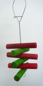YML Small Parrot Bird Toy 30cm .