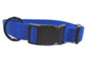 Hamilton Adjustable Dog Collar Blue 1 X18-26 - FAL