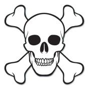 Beistle 54495 Skull & Crossbones Cutout