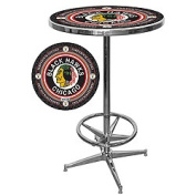NHL Vintage Chicago Blackhawks Pub Table
