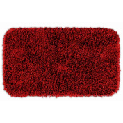 Garland Rug BEN-3050-04 Jazz 30 in. x 50 in. Shaggy Washable Nylon Rug Chili Pepper Red