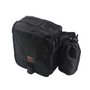 Blancho Bedding HJ051-BLACK Business Style Multi-Purposes Fanny Pack / Back Pack / Travel Lumbar Pack