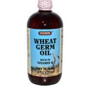 Viobin 0520304 Wheat Germ Oil Liquid Rich in Vitamin E - 16 fl oz