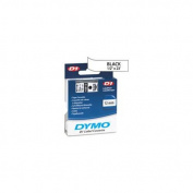Dymo Corporation DYM53713 DYMO D1 Electronic Tape- 1inchx23ft. Size- Black-White