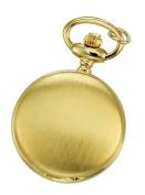 Charles-Hubert- Paris Brass Gold-Plated Satin-Finish Quartz Pendant #6765