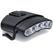 Cyclops 375405 Tilt Hat Clip Light with 5 Led