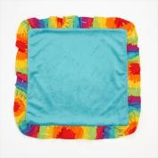 One Grace Place 10-34025 Terrific Tie Dye Binky Blanket