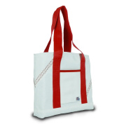 Sailor Bags Mini Tote Bag with Red Straps