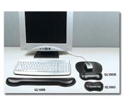 Aidata USA GL100K Soft Skin Gel Keyboard Wrist Rest