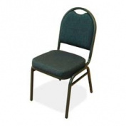 Lorell 8917 Round Back Stack Chair