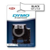Dymo Corporation DYM16953 Tape Cartridge- Nylon Fabric Tape- .50in.x12in.- Black on White