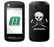 MusicSkins Jackass Logo Skin for ZTE Libra
