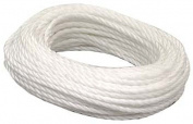 Lehigh Group .63.5cm . X 15.24m White Polypropylene Twisted Rope PT450W-P