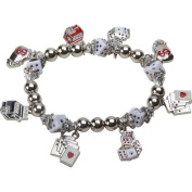 Premium Connection 290-CBST Bret Roberts Gaming Charms Stretch Bracelet