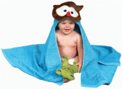 AM PM Kids 46020 Owl Tubby Hooded Towel - 68.6cm . x 127cm .