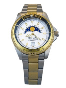 Del Mar 50401 Nautical Analogue Tide Watch Two Tone - White