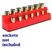 Mechanics Time Saver MTS3762.7cm Drive 14 Hole Red Impact Socket Holder