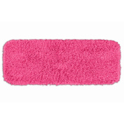 Garland Rug BEN-2260-11 Jazz 22 in. x 60 in. Runner Shaggy Washable Nylon Rug Pink