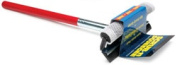 Deluxe 8 Metal Squeegee with 16 Wood Handle Black Assembled