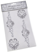 Lillian Rose BD310 BR Bride Just Married Tattoo
