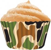 Cupcake Creations 152473 Standard Baking Cups 32-Pkg-Camo