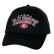 Daddys Tool Bag DTBHPD Embroidered Proud Daddy Hat- Black