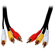 Comprehensive Cable 3m Standard Series General Purpose 3 RCA Video Cable