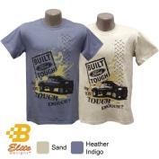 B Elite Designs BDFMST112 -SND-S Ford Truck Tough Enough Short Sleeve Tee Sand- Small
