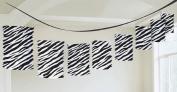 Amscan 220336 Zebra Paper Lantern Garland