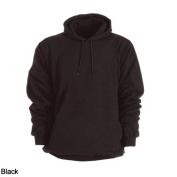 Berne Apparel SP300BKT520 2X-Large Tall Original Fleece Hooded Pullover - Thermal Lined - Black