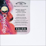 Winsor Newton 446668 Artists ft. Quality Deep Edge Stretched Canvas-15cm . x 15cm .