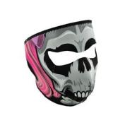ZANheadgear Neoprene Lethal Threat Girl Skull Face Mask